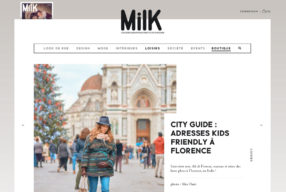 Mon city-guide Kids Friendly sur le site de MILK MAGAZINE