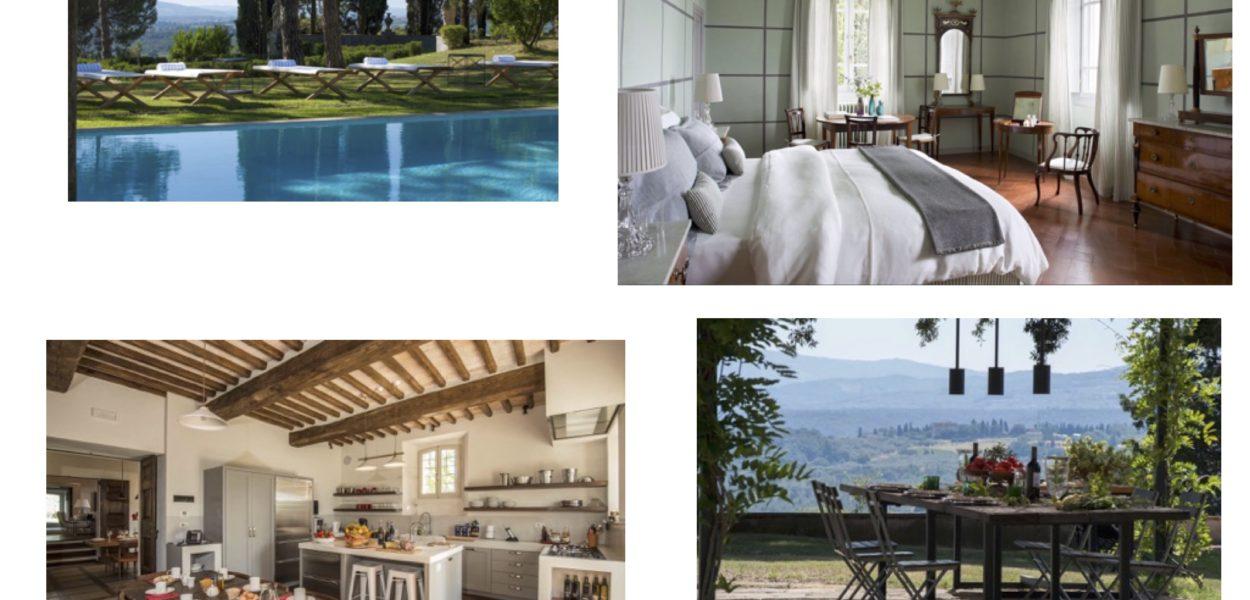 SECRET DE CONCIERGE, cinq villas de luxe en Toscane