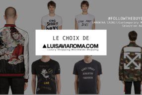 Le choix de Luisa Via Roma #18, sélection homme