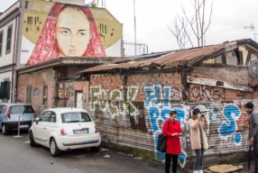 WINTER IN ROME / Street art avec Personalized Italy