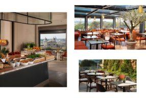 Rome à vos pieds au restaurant Giardino de l'Eden hôtel