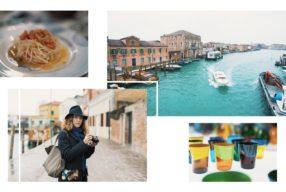 Carnet d'adresses à Murano