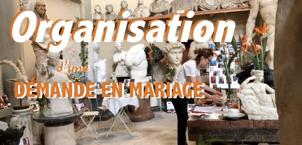 Une demande en mariage à Florence