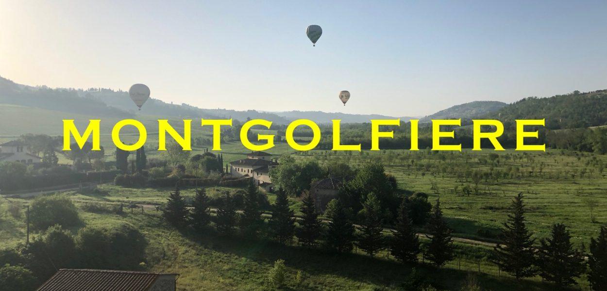 Montgolfière en Toscane