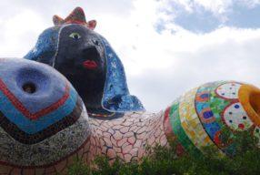 Le jardin des Tarots de Niki de Saint Phalle en Maremme