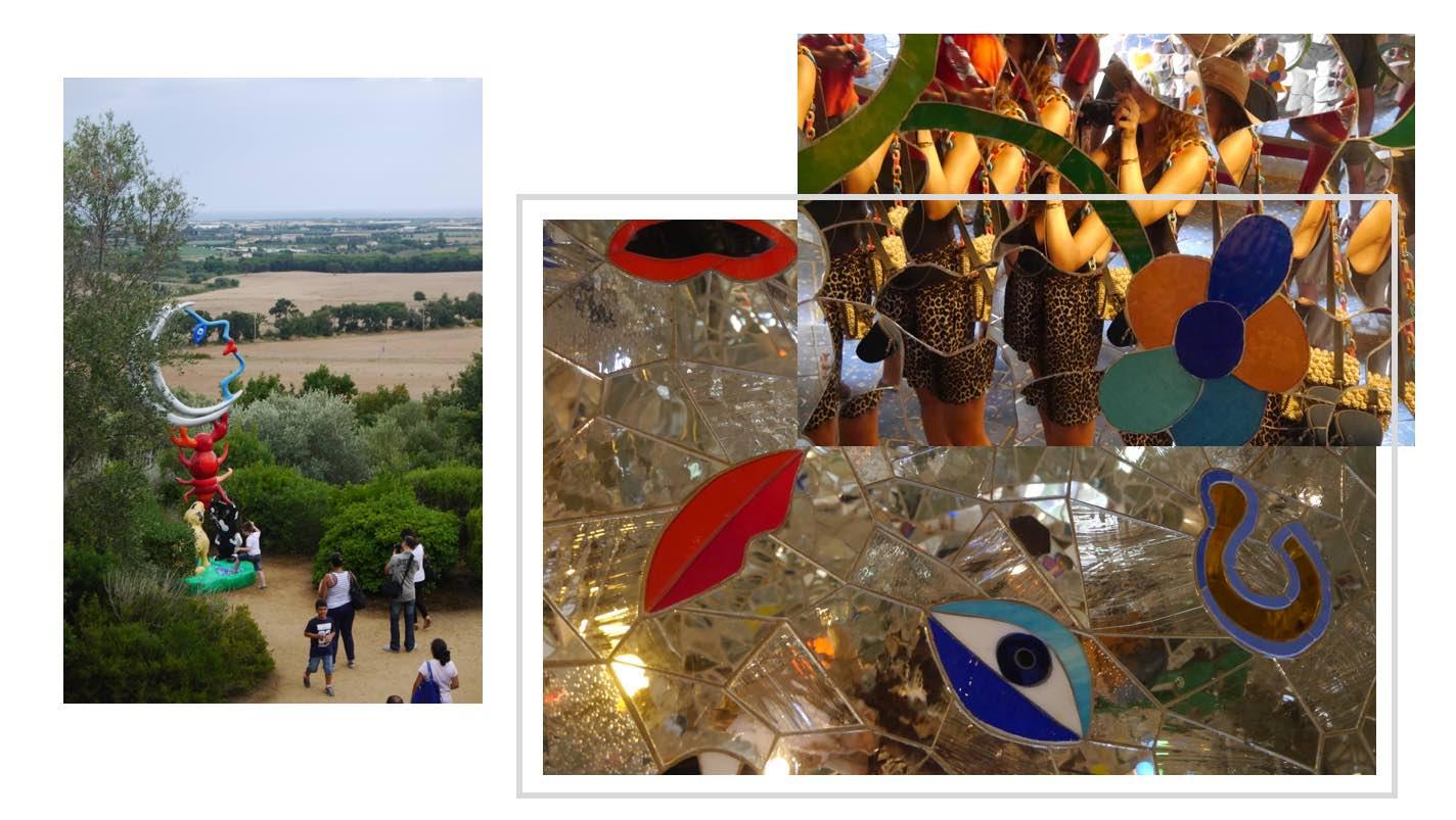 Le jardin des tarots de niki de saint phalle en maremme - Jardin tarots niki de saint phalle ...