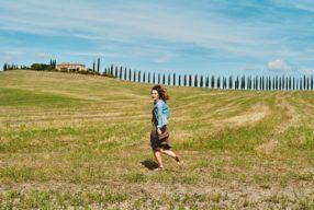 Val d'Orcia Postcard, Poggio Covili