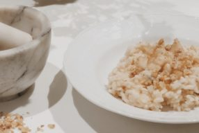 MIMOK #20 Risotto poire, noix et gorgonzola