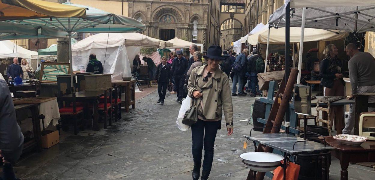 Brocantes à Florence