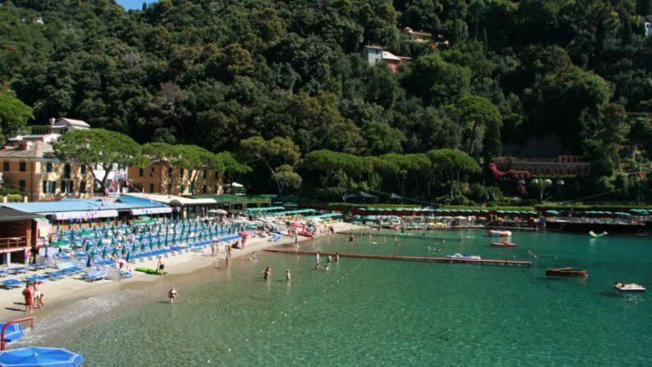 plage de baia di paraggi à portofino