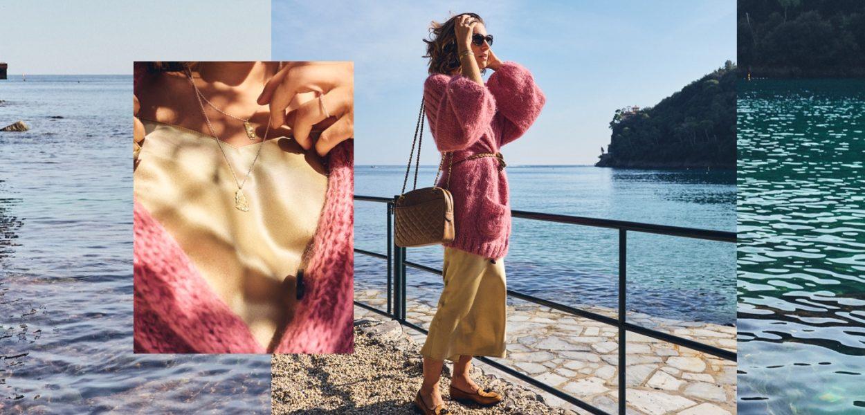 Style Story à Portofino avec Grazia Giachi / Slip dress cosy
