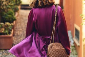 Style Story à Portofino avec Grazia Giachi / Le kimono en soie