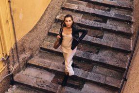 Style Story à Portofino avec Grazia Giachi / Grungy slip dress