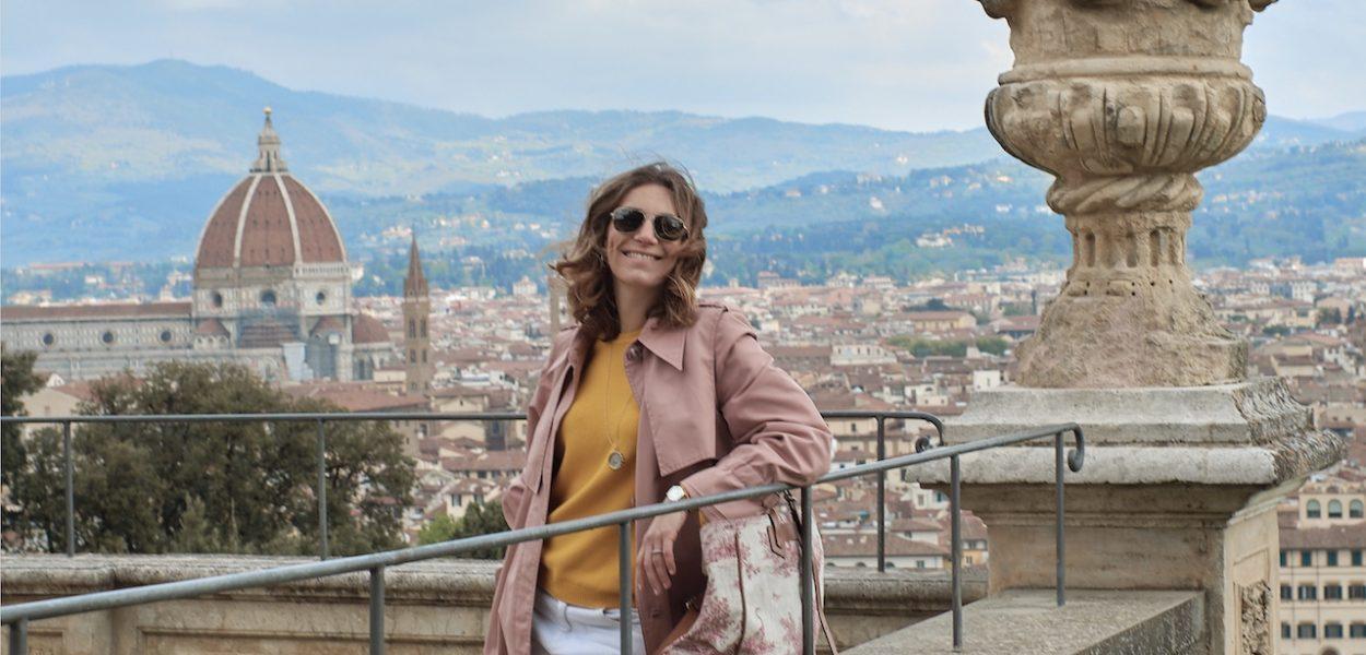 Vue sur Florence depuis les jardin Bardini