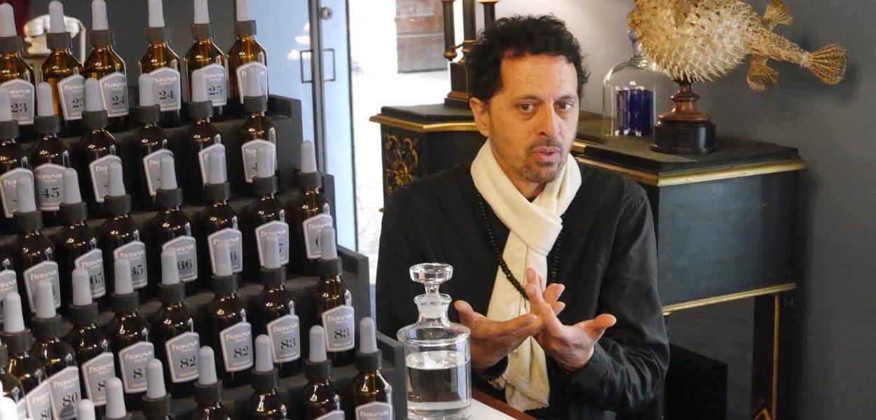 Sileno Cheloni, la quête de vérité d'un maestro parfumeur