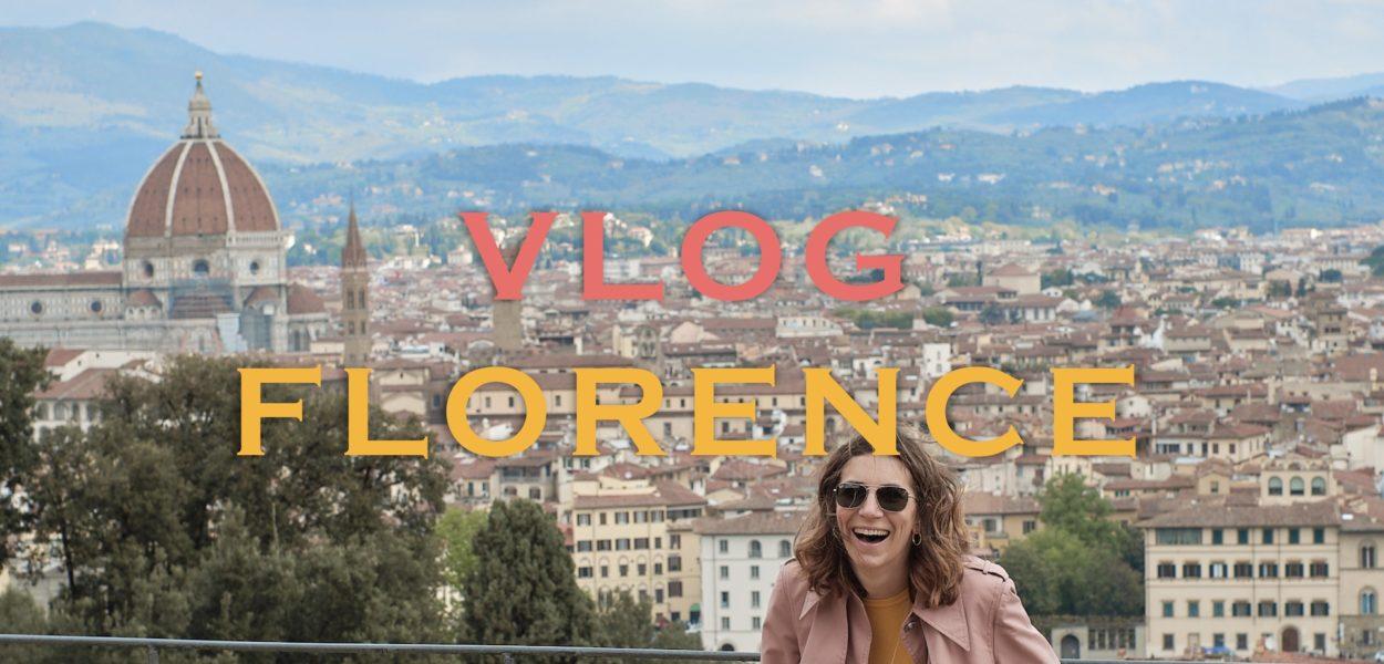 VLOG en shooting à Florence