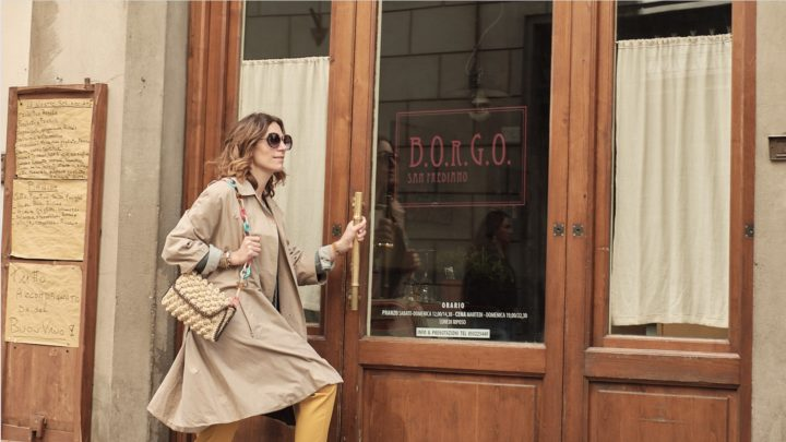 Alice visite Borgo San Frediano en Italie