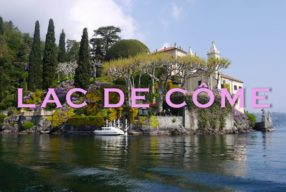 ITALIAN MOMENT, Une virée sur le lac de Côme