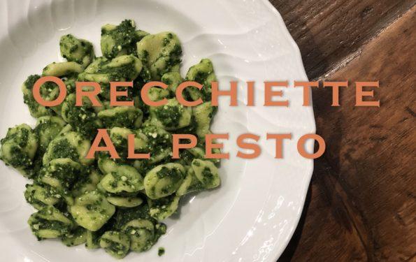 Orecchiette al pesto en italie la meilleure recette