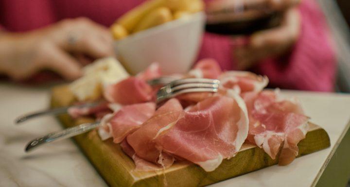 le prosciutto di Parma en Italie
