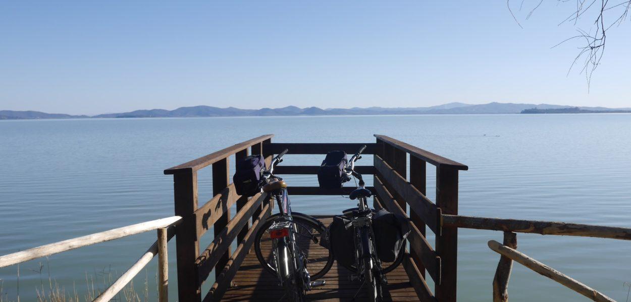 Ombrie nature, le tour du Lac Trasimène à vélo