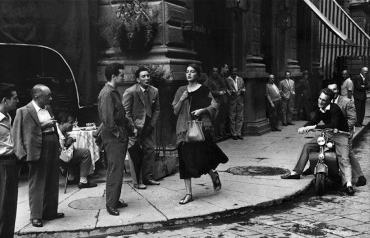 Rue de Florence durant les années 50