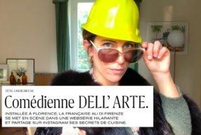 Ma web serie Dolce Follia dans M le magazine du Monde