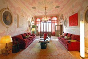 Palette vénitienne, les couleurs de la ville dans un intérieur