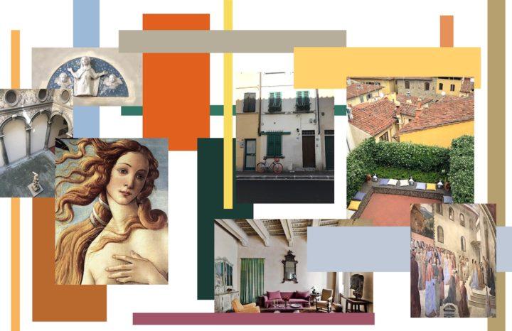 photos de peintures et d'objets Italiens