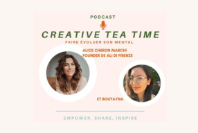 Mon interview dans le podcast Creative Tea Time