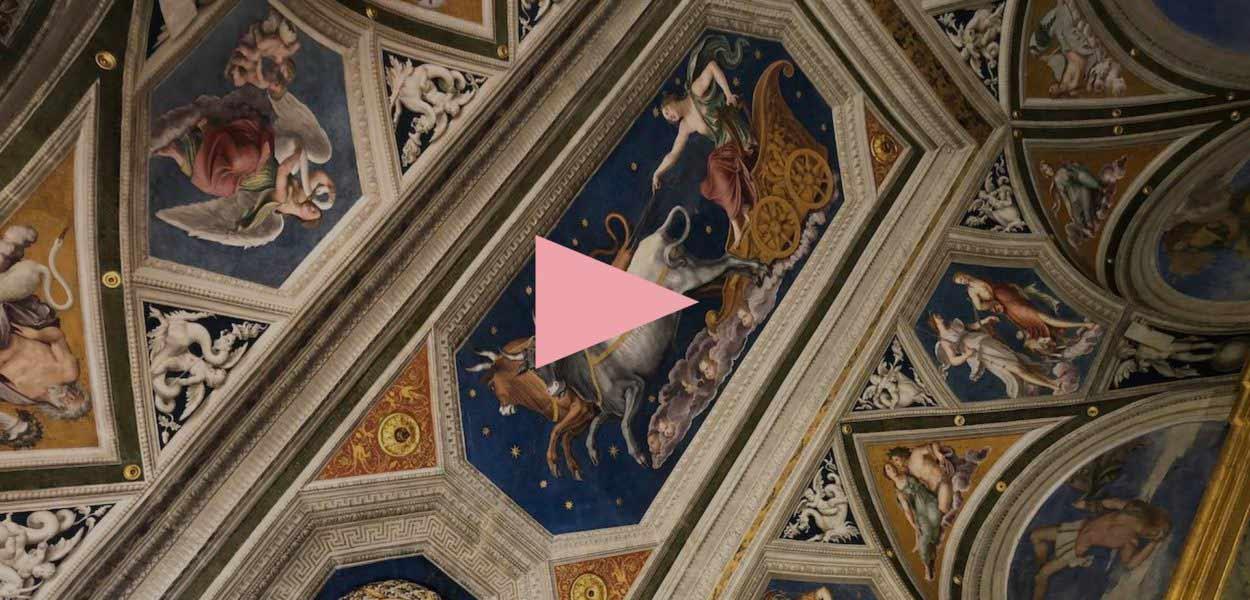 Villa Farnesina, le choc de la beauté en fugue