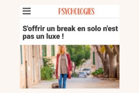 Psychologies Magazine parle de la Fugue!