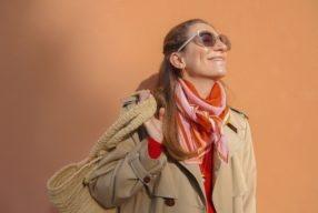 Naissance du foulard «Palette»