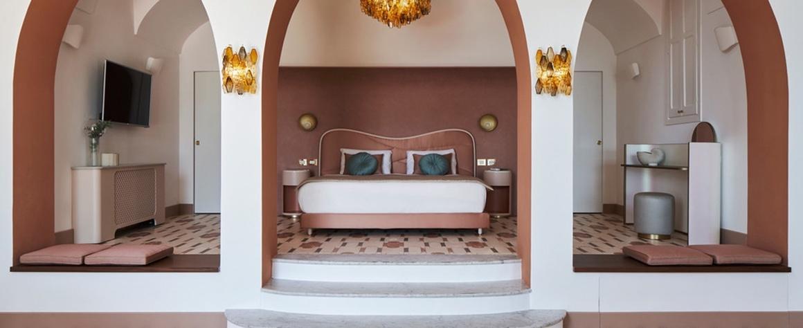 cote amalfitaine hotel palazzo avino chambre