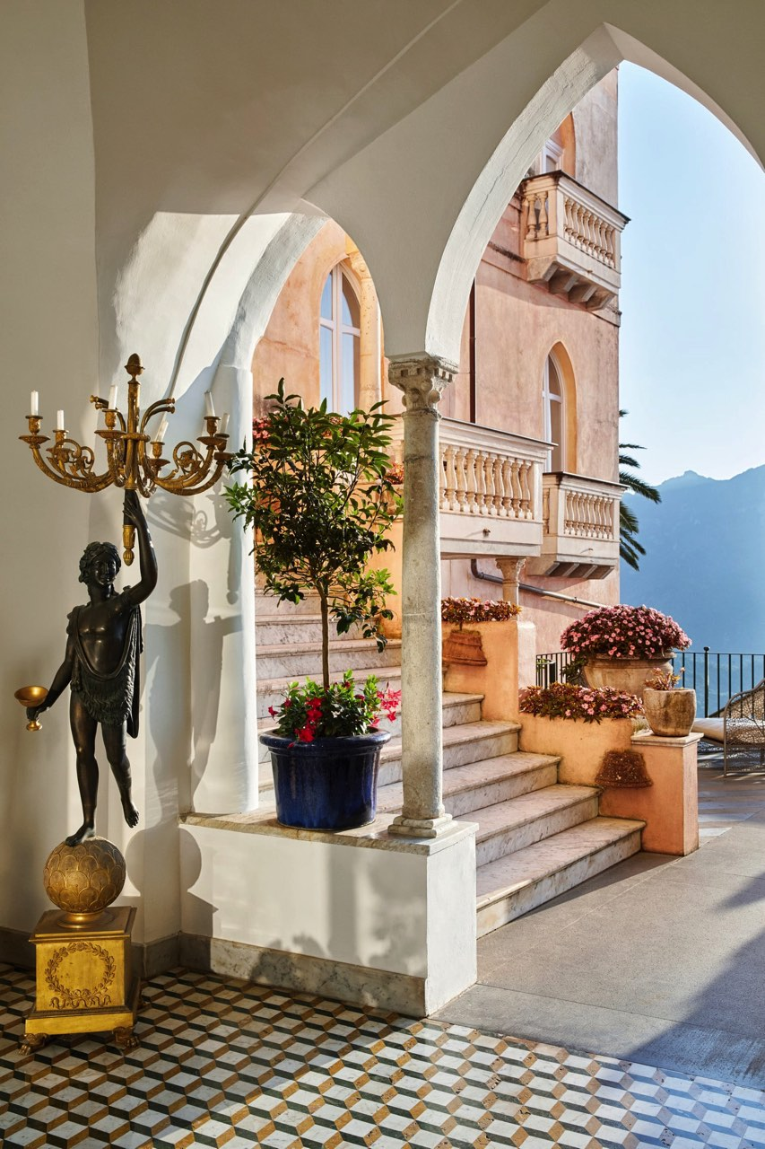 cote amalfitaine hotel palazzo avino