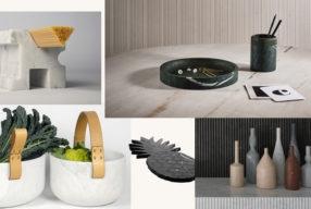 Excellence du décor italien, jolis objets en marbre