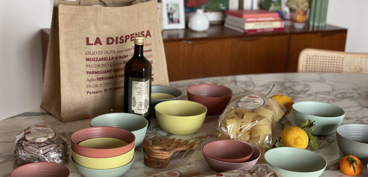 Nos objets manifestes «La diète italienne»