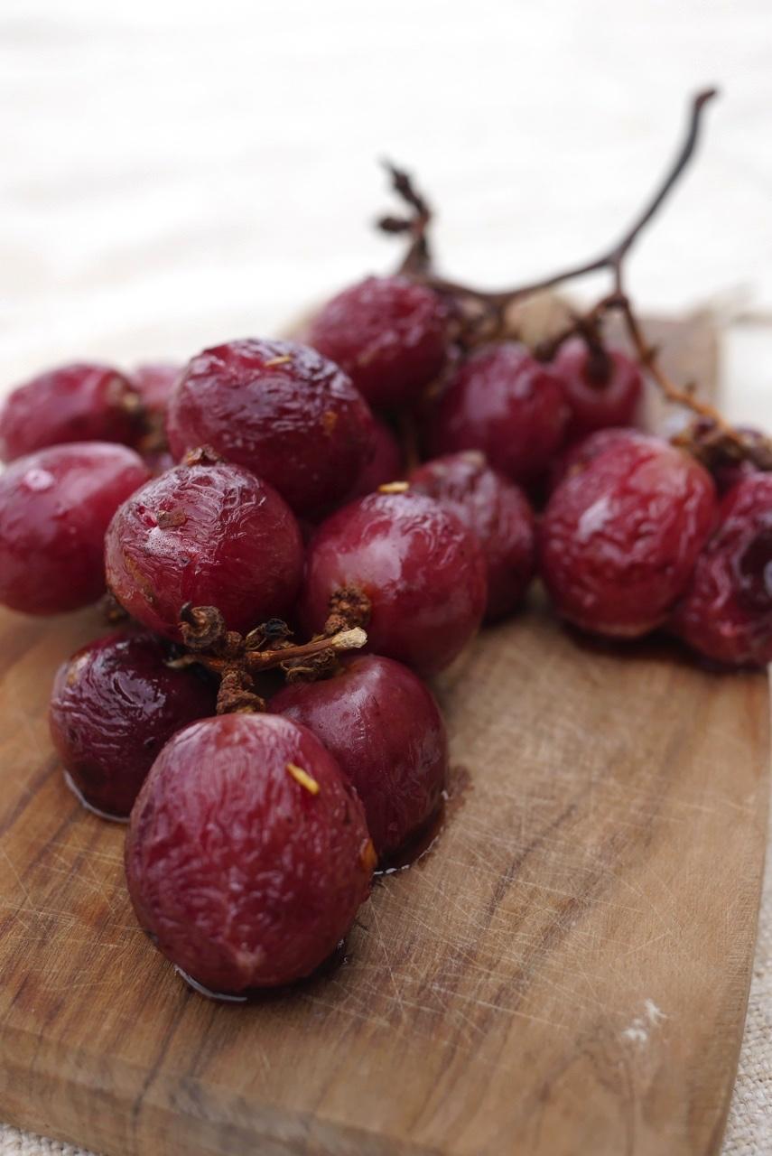 raisins rotis
