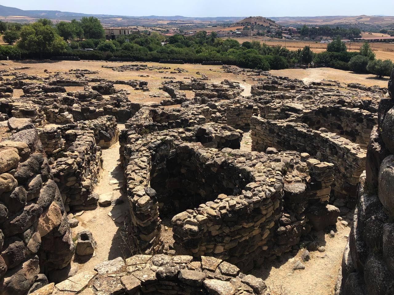 zone archéologique sardaigne