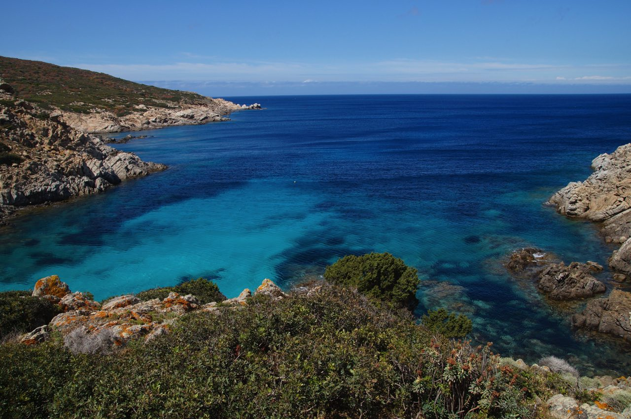 paysage sardaigne mer