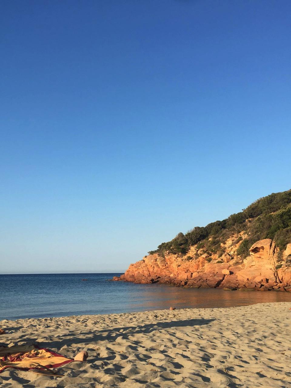 sardaigne paysage mer