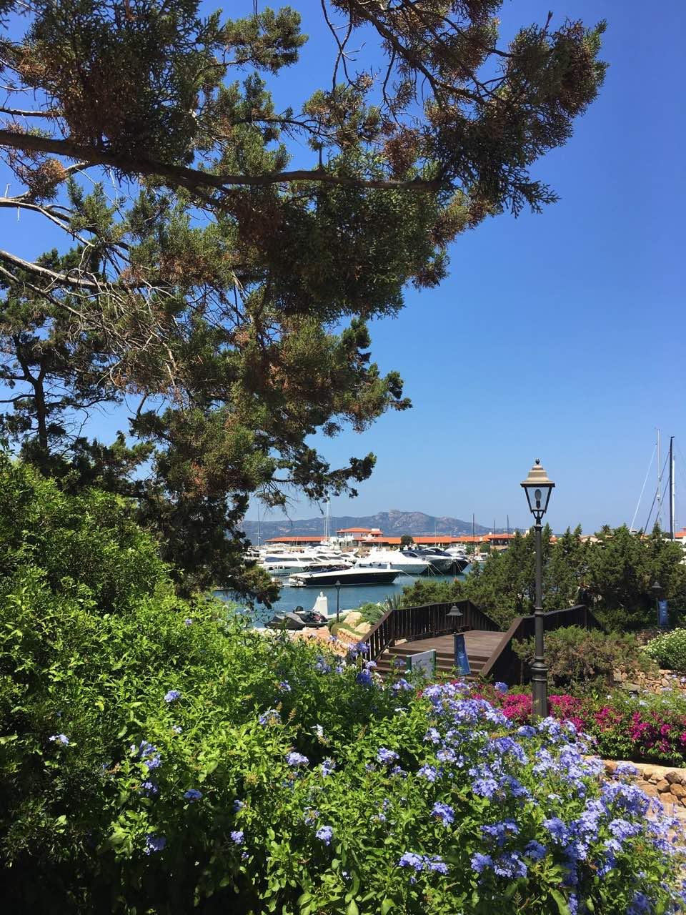 sardaigne port yacht