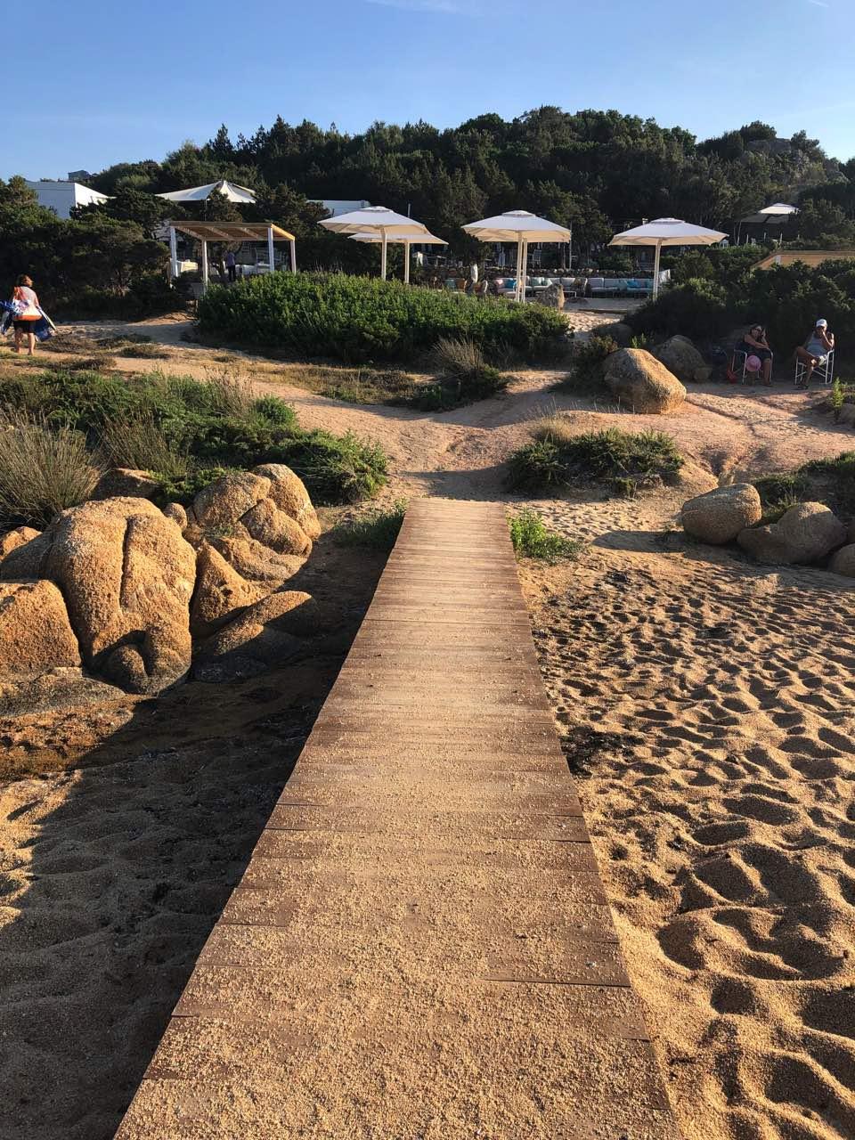 sardaigne plage terrasse