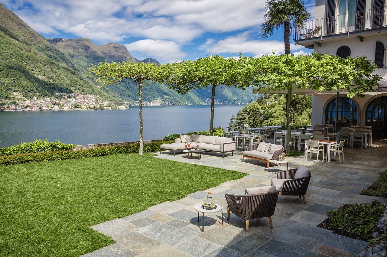 villa lario lac come terrasse