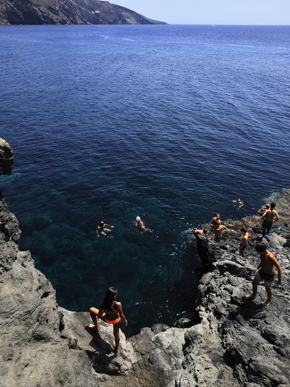 plage mer italie pantelleria