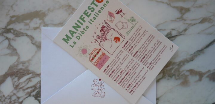 Le manifesto de la diète italienne